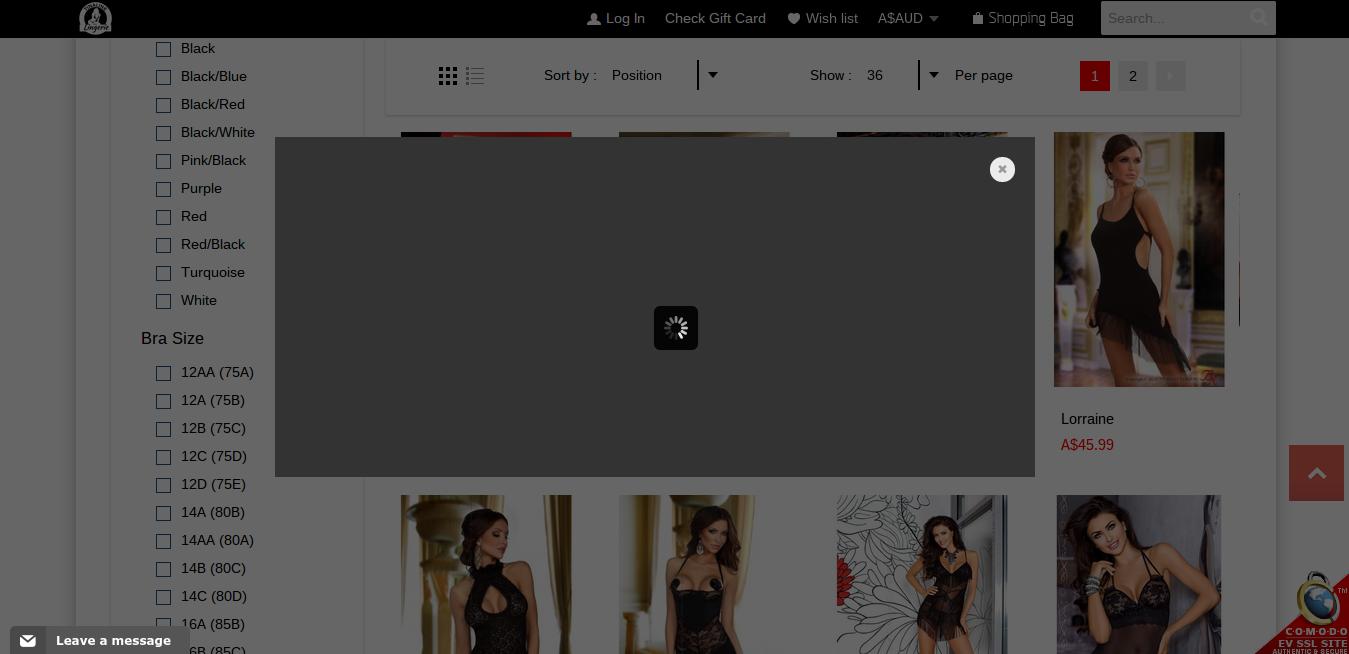 Lingerie screenshot 5