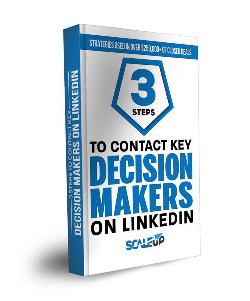 3 steps to get in contact with key decisionmakers